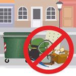 volantino adesivo_abbandono rifiuti