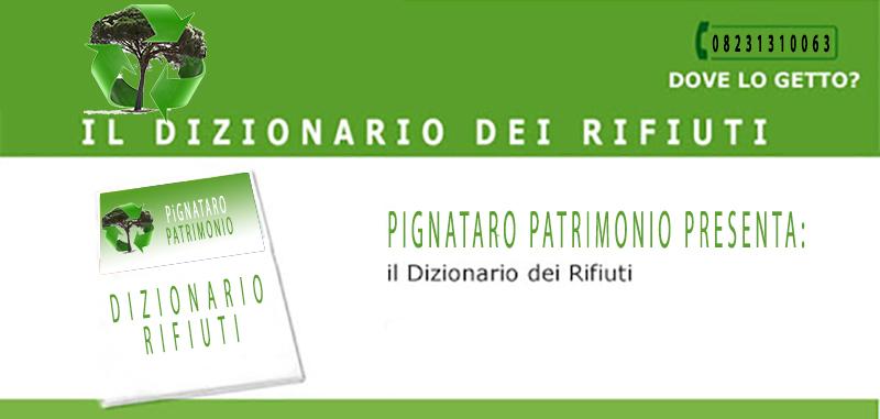 Dizionario Rifiuti