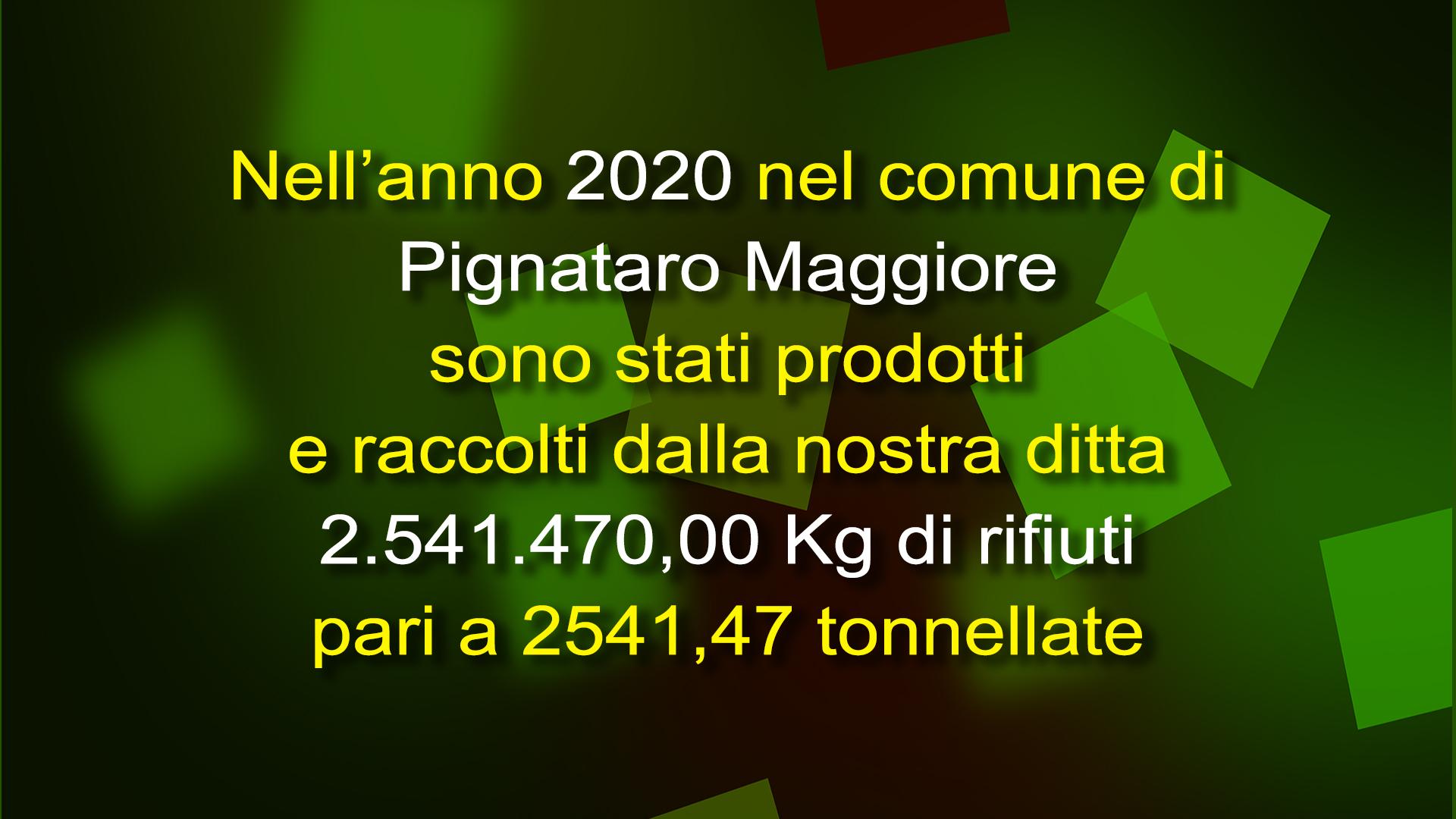raccolta 2020